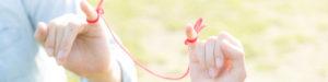 【姫路】結婚相談所 ロビンソン・パートナーズ【神戸】ロビンソンパートナーズについて_糸で指と指を結ぶ