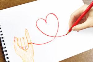【姫路】結婚相談所 ロビンソン・パートナーズ【神戸】トップ画像_手書きのハート